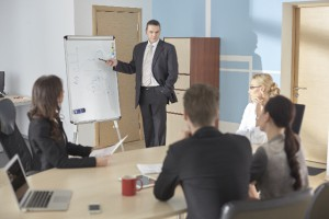 部内の業務を漏れなく見える化し有効な改善につなげるイメージ